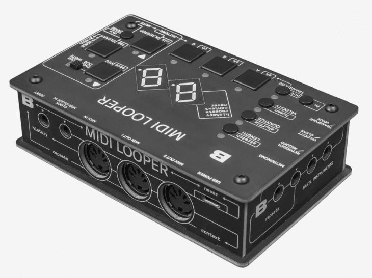 Bastl instruments MIDI Looper test