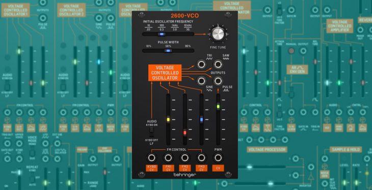 behringer 2600-vco eurorack oscillator