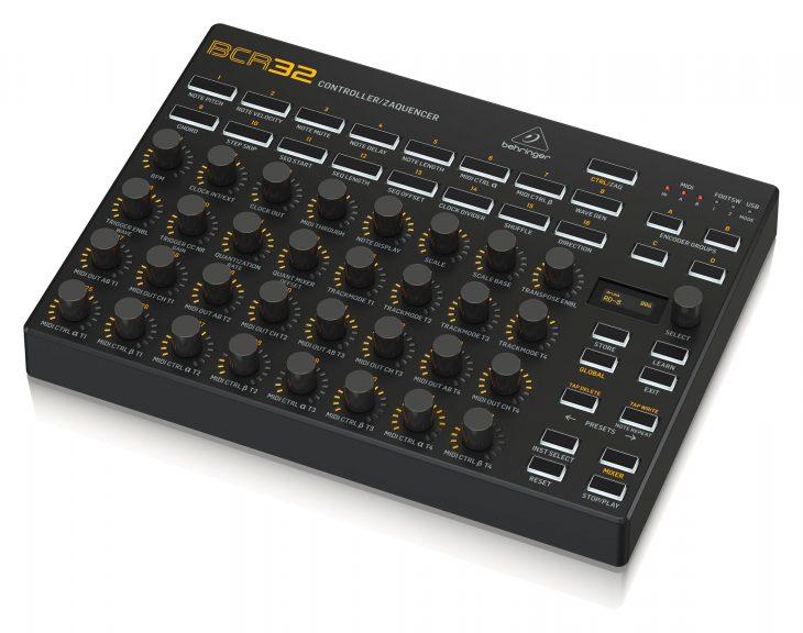 Behringer BCR32 Controller, Zaquencer nach BCR2000