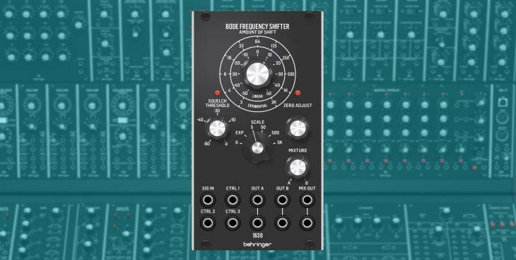 behringer 1630 bode drequency shifter eurorack modul