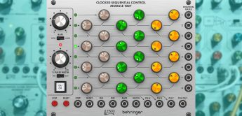 Behringer Clocked Sequential Control Module 1027, Eurorack-Sequencer