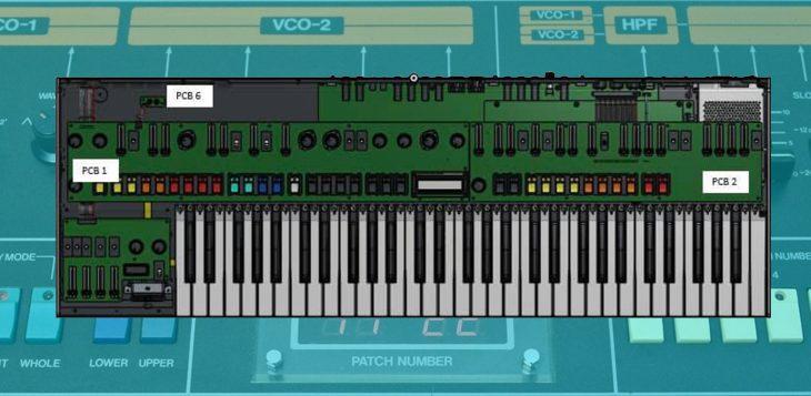 behringer jupiter-8 synthesizer entwurf