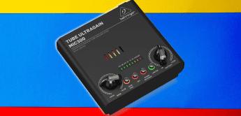 behringer mic300 tube ultragain