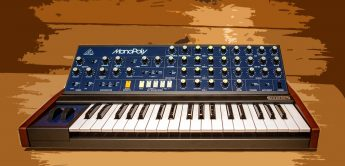 Test: Behringer MonoPoly, paraphoner Synthesizer