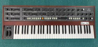 Behringer Pro-16, polyphoner Synthesizer auf halbem Weg – erste Infos
