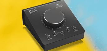 Behringer Studio M: Neuer passiver Monitorcontroller