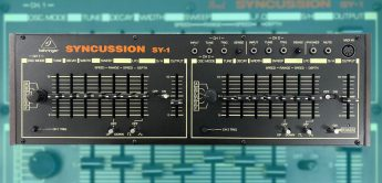 Behringer Syncussion SY-1, Drum Synthesizer in Planung