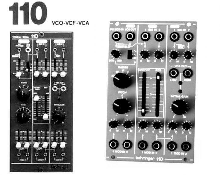 Userbild Vergleich mit dem Roland System 100M 110