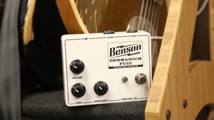 Test: Benson Germanium Fuzz, Verzerrerpedal für E-Gitarre