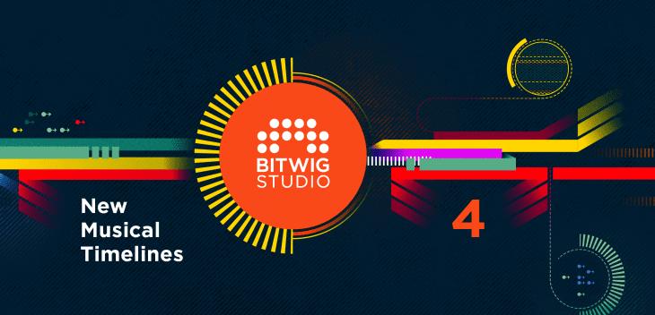Bitwig Studio 4 Key Visual daw