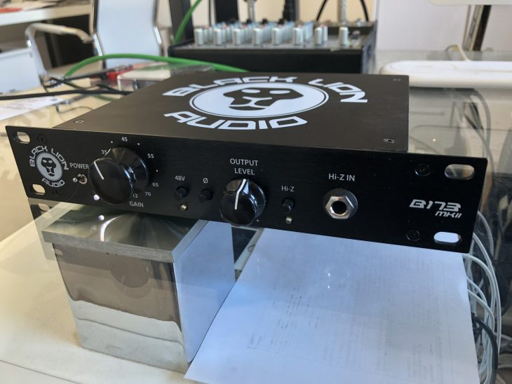 Black Lion Audio B173 MKII Test