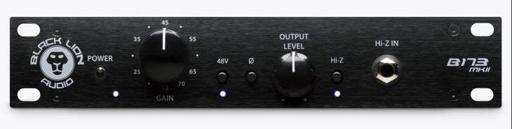 test Black Lion Audio B173 MKII Test