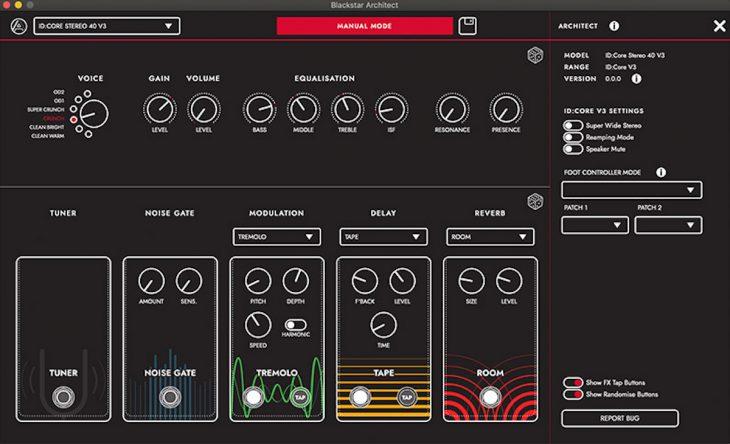 Blackstar ID-Core 40 V3 Architect Software