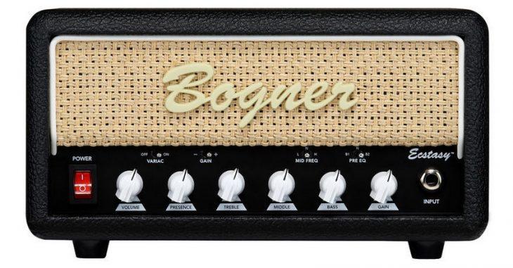 Bogner Ecstasy Mini Amp, Frontal