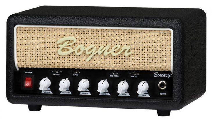 Bogner Ecstasy Mini Amp, schräg