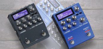 Boss SY-200 & Boss IR-200, Gitarrensynthesizer & Cab Simulator