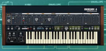 Cherry Audio Mercury-4, Synthesizer-Plug-in nach Jupiter-4