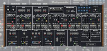 Cherry Audio Polymode, Synthesizer-Plugin nach Moog Polymoog
