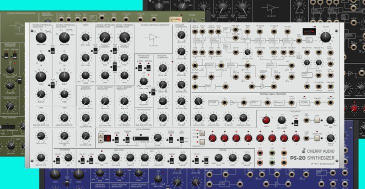 cherry audio ps-20 synthesizer plugin korg ms-20