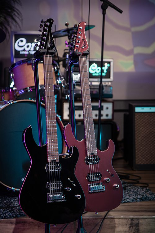 Test: Cort G 300 Pro Vivid Burgundy E-Gitarre