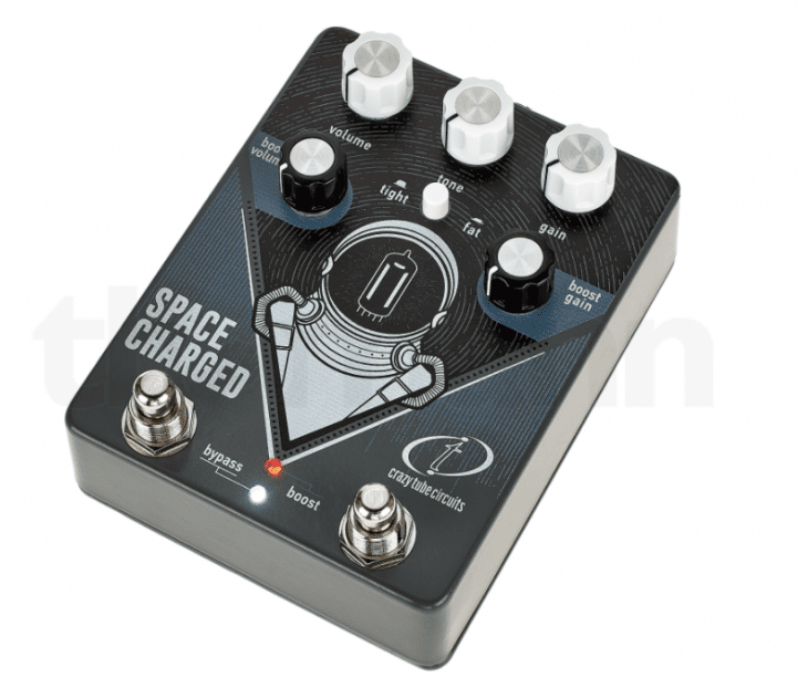 Test: Crazy Tube Circuits Space Charged V2, Verzerrerpedal