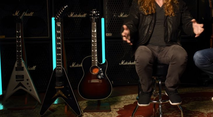 Dave Mustaine Gibson Signature 2021