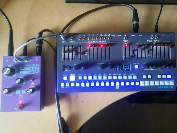 Dreadbox Lethargy Phaserpedal für E-Gitarre