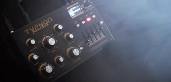 Dreadbox Typhon Limited Edition, Analog-Synthesizer mit DSP-FX