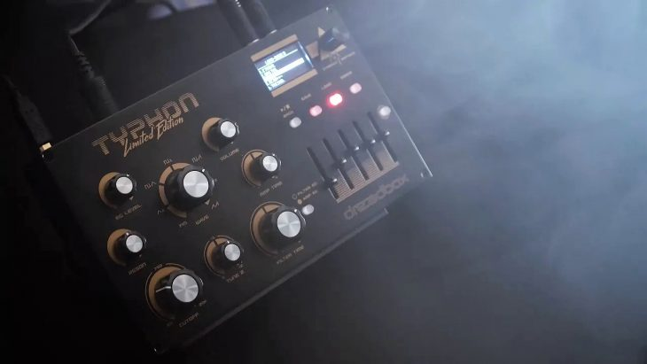 dreadbox typhon limited edition synthesizer