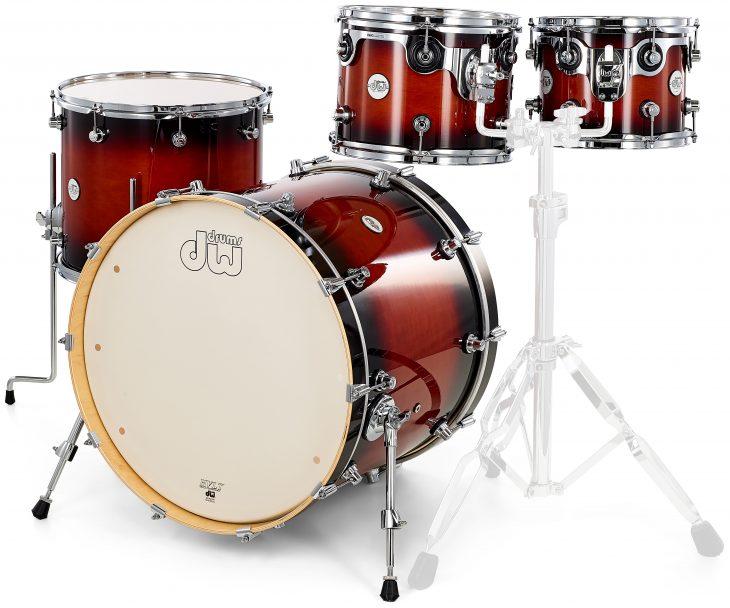 DW Design Serie Shell Pack, Schlagzeug
