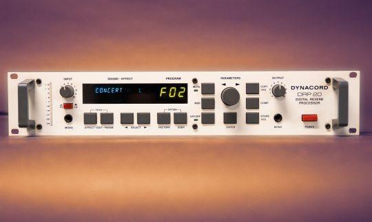 Zeitmaschine: Dynacord DRP-20 Hall-Effektgerät (1988)