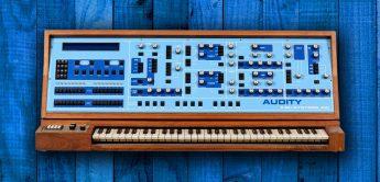 Blue Box: E-Mu Audity Analogsynthesizer (1980)