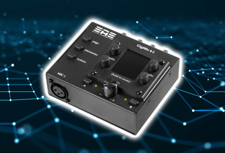 Test:Test: EAE GigMix 4-1 Mini-Digitalmixer