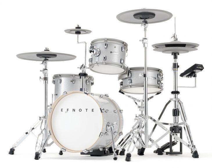 efnote 5 drumset test