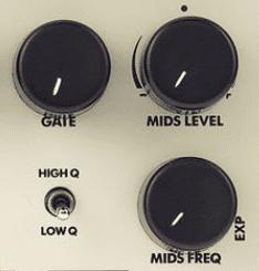 Electro Harmonix Sovtek Del. Big Muff Pi Fuzz, Parametrische Mittenregelung