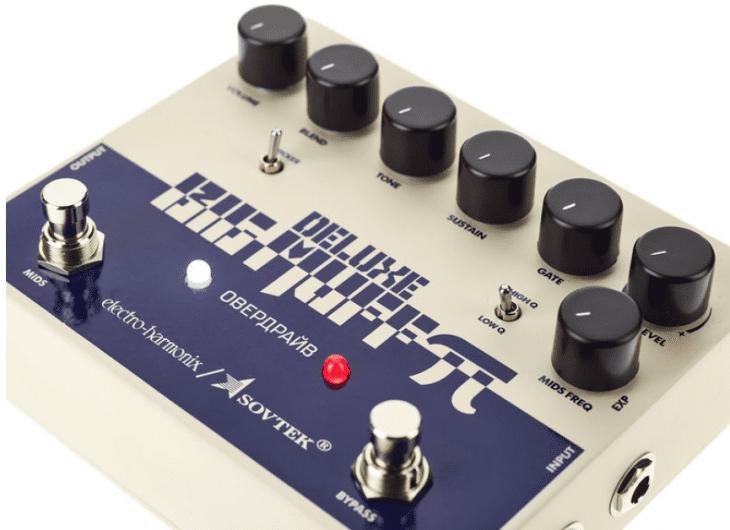 Electro Harmonix Sovtek Del. Big Muff Pi Fuzz, schräg 2