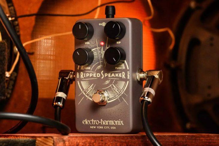 Electro Harmonix Speaker Fuzz Pedal
