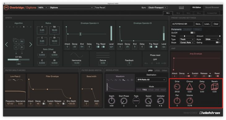 Elektron Overbridge 2.0 - Sektion Synth Voice FX