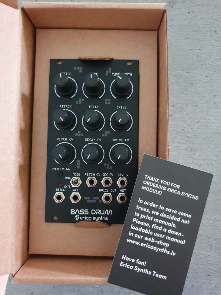 Erica Synths bass Drum 2 Box