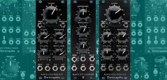 Erica Synths Black Low Pass, High Pass & Filter Coupler, Eurorack-Module