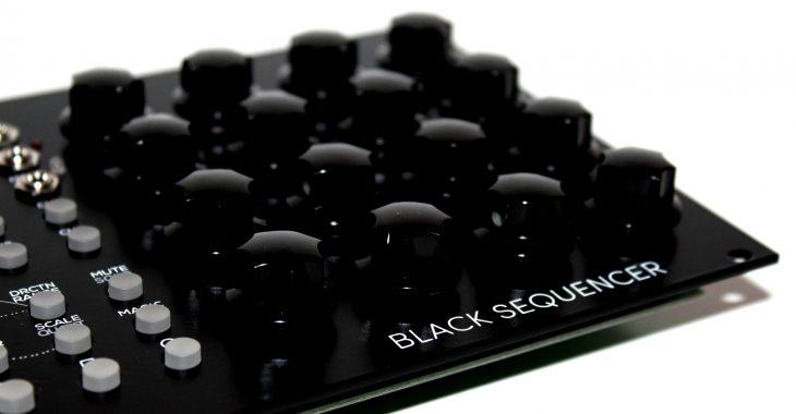 Erica Synths Black Sequencer Userbild Encodermatrix