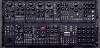 Erica Synths Black System III, portables Eurorack-System