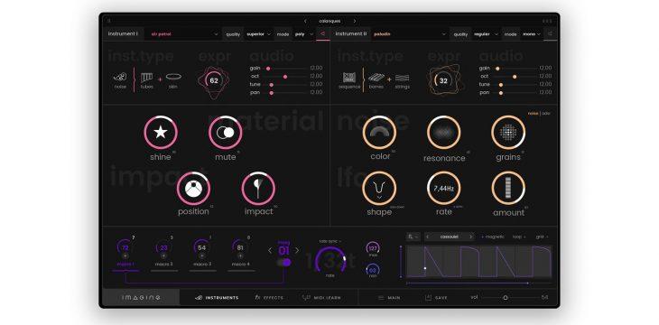 expressive e imagine synthesizer plugin