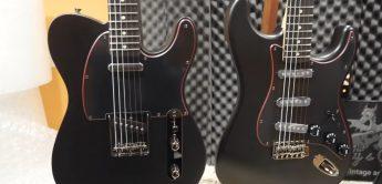 Fender Noir Stratocaster & Telecaster 2021