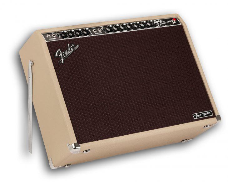 Fender Tone Master Twin Reverb Blonde Tilt back
