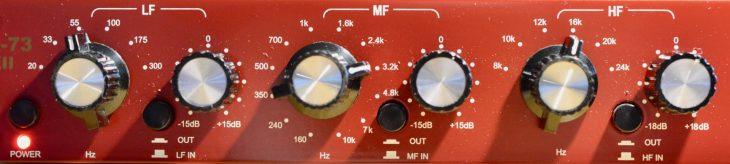 Golden Age EQ-73 MkII - Drums EQ Einstellung