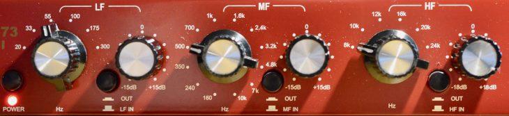 Golden Age EQ-73 MkII - E-Piano EQ Einstellung