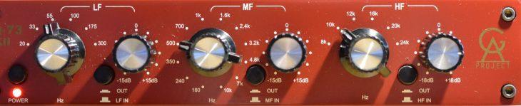 Golden Age EQ-73 MkII - Vocal Präsenz EQ Einstellung