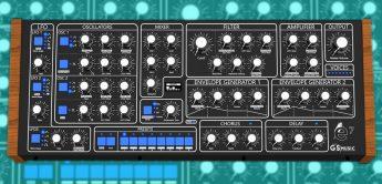 GS Music e7, polyphoner Analogsynthesizer