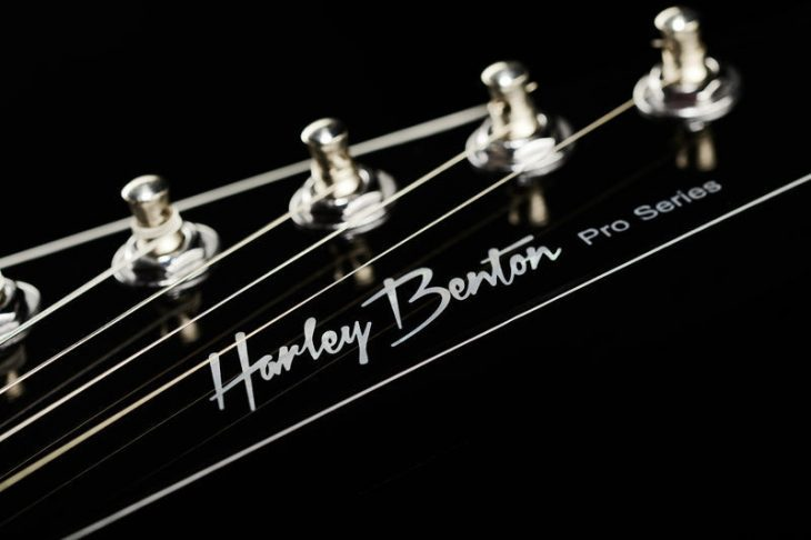 Harley Benton Extreme-76 BK Kopfplatte